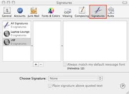 How To Do A Signature How Do I Create A Signature To Appear At The End Of My Emails E