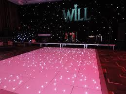 white led dance floor hire