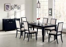 black dining room sets. White And Black Dining Table Color Room Sets