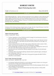 Marketing Resume Examples Interesting Marketing Resume Samples Examples And Tips