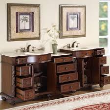 90 Bathroom Vanity Silkroad Exclusive Hyp 0213 Cm Uic 90 Lmr Victoria 90 Inch Double