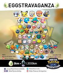 Pokemon Go Egg Chart 2018 Eggstravaganza Special Egg List Thesilphroad