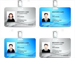 Id Card Template Free Download Word Blank Id Card Template School