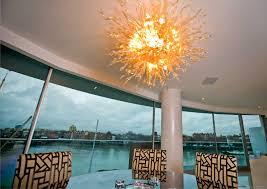 Großhandel Gold Kronleuchter Moderne Kristall Hotel Lobby Deckenleuchter 100 Mundgeblasenem Glas Led Kronleuchter Licht Von Benstore0829 80403 Auf