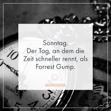 Sonntag Der Tag An Dem Die Zeit Schneller Rennt Als Forrest Gump