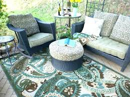 round outdoor patio rugs aqua full size of rug for patios with