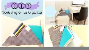 Diy Organization Diy Organization Book Shelf File Organizer Upcycle Cardboard