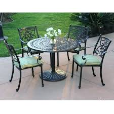 round patio table with fire pit round patio table set view larger outdoor patio set with