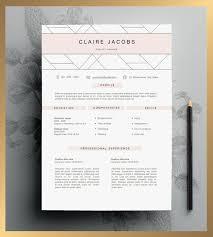 56 Best Cv Images On Pinterest Resume Templates Resume Design And