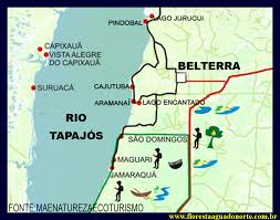 Resultado de imagem para imagens porto aramanaí belterra