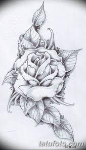 эскиз тату цветы на руку 2 Tatufotocom