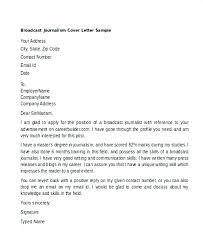 Broadcast Cover Letter Under Fontanacountryinn Com