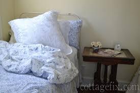 cottage fix blog shabby chic bedding