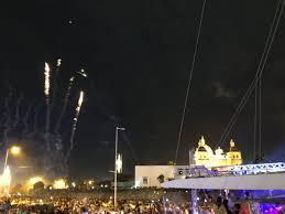 Espectaculo de pirotecnia cielo abierto Cartagena