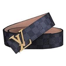 <b>Unisex Fashion</b> Leather Metal Buckle Unisex Belt for Men Brown ...