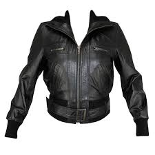 las lambskin classic fitted er jacket