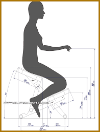 tantra chair dimensions luxury kneeling chair plans