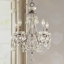 obsession lamps plus crystal chandeliers tivoli gardens 18 1 4 wide 5 light mini chandelier style v7668