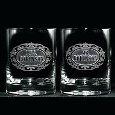 personalised bourbon glasses whiskey scotch rocks bar glass gifts custom engraved personalized and s set large custom engraved bourbon glasses