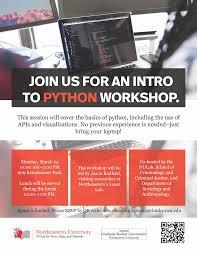 Python Workshop Flier
