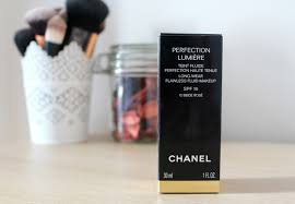 the chanel perfection lumière foundation i really struggle finding ones that look nice on my skin because of how pale i am but this time