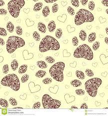 Paw Print Pattern Best Design Inspiration