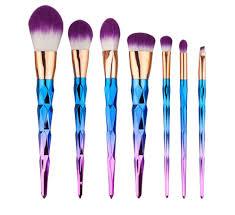 grey multicolor brush set 6 29