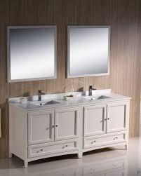 traditional double sink bathroom vanities. Fresca-Oxford-72-Antique-White-Traditional-Double-Sink- Traditional Double Sink Bathroom Vanities A