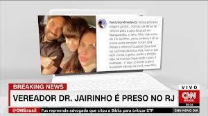 Vereador Dr. Jairinho e mãe do menino Henry são presos no Rio de Janeiro