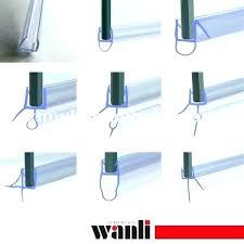 glass shower door seals shower door seals glass shower door seal awesome seals home depot considerations sealant installation shower door vinyl t seal and