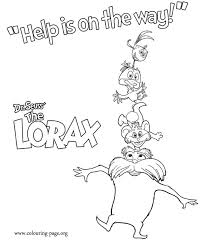Small Picture Have fun coloring these characters from the film The Lorax In