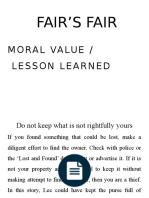 fair s fair moral values fair s fair moral values pptx