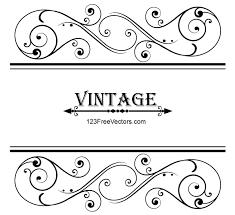 vintage frame design png. Vector Vintage Floral Ornamental Frame Design By 123freevectors Png