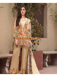 Dresses Lawn Latest Summer Crystal Stylish Salwar Fashion Digital amp; 2019 1 Volume Pakistani Kameez Collection Ittehad