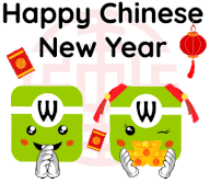 Year of the rat greeting design set. Happy Chinese New Year Gifs Tenor