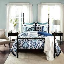 ikat bedding park signature blue comforter set with a removable insert bedding home improvement logo template