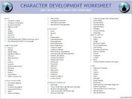 Character Building Worksheets Free Worksheets Library | Download ...