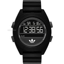 men s adidas santiago xl digi alarm chronograph watch adh2907 mens adidas santiago xl digi alarm chronograph watch adh2907