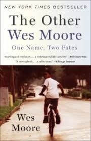 mount prospect public library book discussion questions the other  the other wes moore book cover