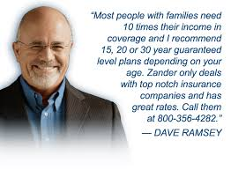 Zander Life Insurance Quote Amazing Zander Insurance Endorsed By Dave Ramsey Official Site