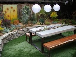 cool patio furniture ideas cool concrete outdoor patio picnic tables in the small garden best set