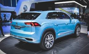 2018 volkswagen minivan.  2018 seen side by side vwu0027s new threerow vehicle looks only a little larger  than the touareg but it is much more spacious inside largely because engine  inside 2018 volkswagen minivan