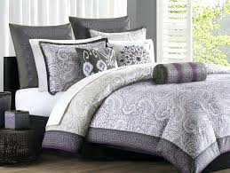 purple comforter full size of sets and silver grey bed sheets