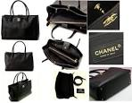 Replica chanel caviar executive cerf tote bag