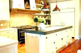 country kitchen ideas cream color granite white wooden cabinets utensils hooks lighting with french style l