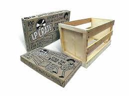 crate farm x vinyl record storage diy al