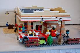 Lego Full House Lego Ideas 1930s Service Station