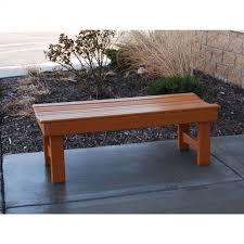 garden resinwood park bench 4 feet ff