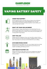 10 Awesome Battery Safety Resources For Vapers Vapersgarage