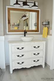 Bathrooms Design Old Dresser Turned Bathroom Vanity Homemade Collection Of  Solutions Build Your Own Dresser